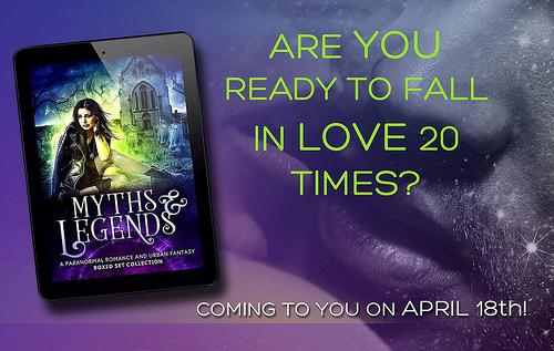Myths & Legends Giveaway banner